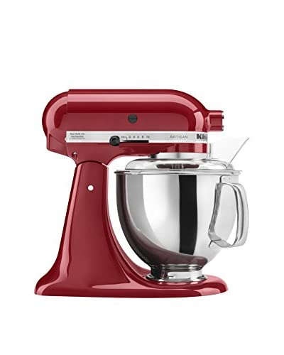 KitchenAid Artisan 5-Qt. Series Stand Mixer with Pouring Shield, Empire Red
