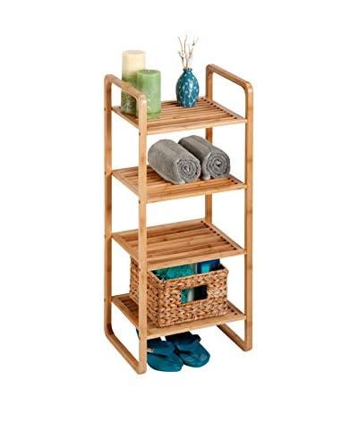 Honey-Can-Do 4-Tier Bamboo Accessory Shelf
