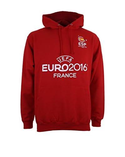 EURO 16 Sudadera con Capucha Spain Badge