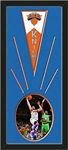 New York Knicks Wool Felt Mini Pennant & Carmelo Anthony Playoff Action Photo -... by Art and More, Davenport, IA