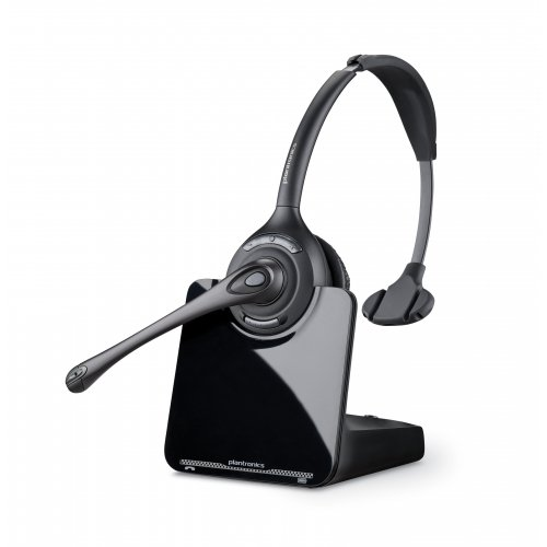 Plantronics 84691-11 / Cs510 Over-The-Head Monaural Mono - Wireless - Dect - 350 Ft - Over-The-Head - Binaural - Ear-Cup - Noise Cancelling Microphone