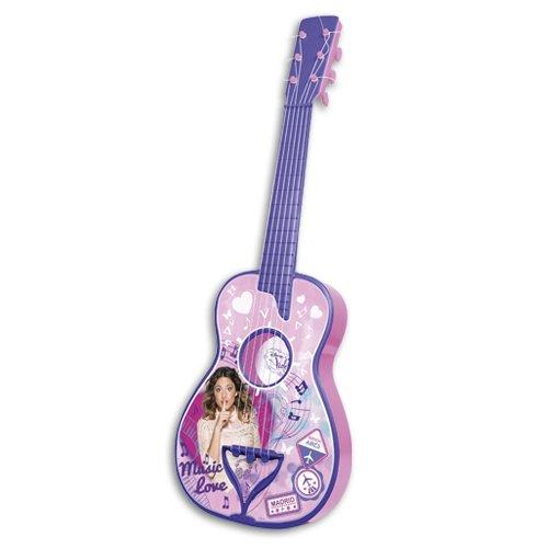 VIOLETTA Guitare en Bois 65 cm