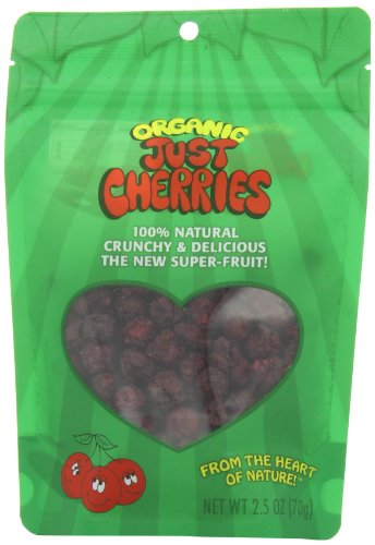 Just Tomatoes Organic Just Cherries, 2.5 Ounce Pouch  (Pack of 3)