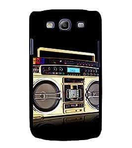 printtech Retro Music Player Back Case Cover for Samsung Galaxy S3 Neo / Samsung Galaxy S3 Neo i9300i