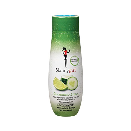 SodaStream Skinny Girl Cucumber Lime Syrup, 14.8 Fluid Ounce (Sodastream Naturals compare prices)
