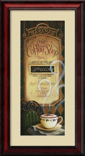 Coffee Shop Menu By Lisa Audit Framed