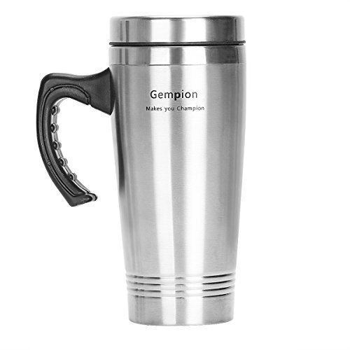 Travel Mug, Simple Coolers Modern Vacuum Insulated Stainless Steel Traveling Coffee Tumbler with Lid - Double Walled - Sweat Free Coffee Cup - Powder Coated Mug.length (Coffee Cooler compare prices)