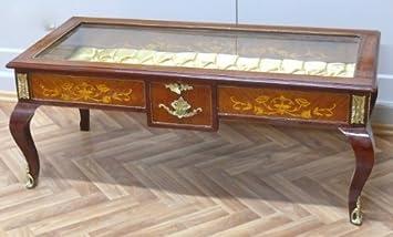 Barock Tisch Couchtisch Antik Stil Rokoko LouisXV LaTa0735
