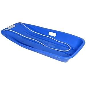 toboggan schlitten aus kunststoff mit kordel outdoor spielzeug f r kinder ab 6 jahren blau. Black Bedroom Furniture Sets. Home Design Ideas