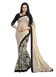 SRP Fashion Selection Women's PrintedGeorgette Saree (SRP-HD-158)