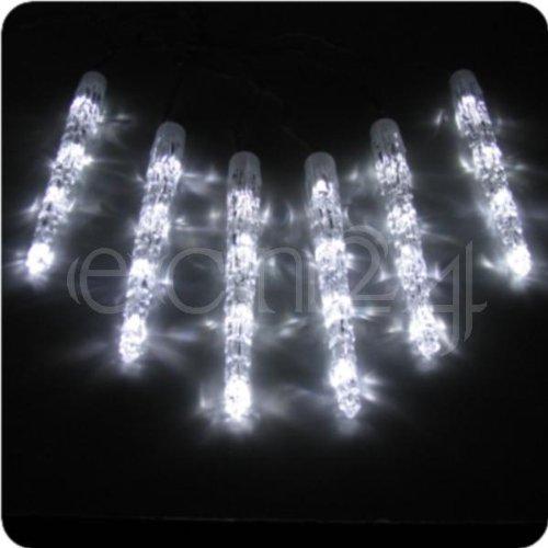 LED Eiszapfen Lichterkette - 50cm kaltweiss