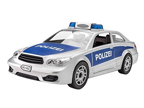 Revell-00802-Junior-Kit-Polizei-silber