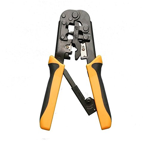 repair kits tool data tester crimper punch down stripper knife screwdriver case ebay. Black Bedroom Furniture Sets. Home Design Ideas