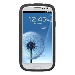Silicone Skin Soft Case for Samsung Galaxy S III- Black