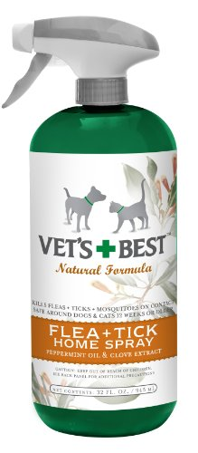 Vet's Best Natural Flea + Tick Home Spray, 32 oz