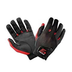 Buy E-Force Weapon Racquetball Glove (Black Red) by E-Force