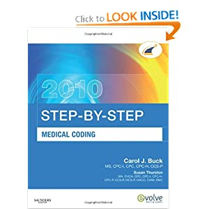 2010 step-by-step medical coding answer book