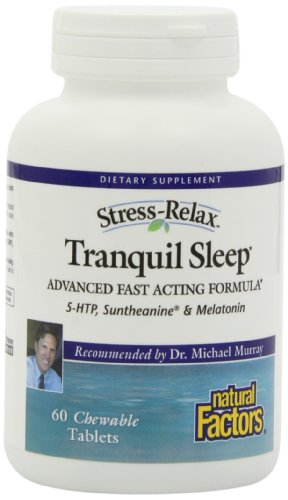 Organically grown Factors - Stress-Relax Tranquil Sleep, Helps You Fall Asleep More With dispatch, 60 Chewable Tablets