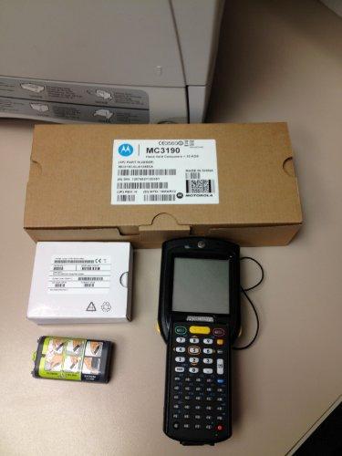 Motorola Mc3190 Barcode Scanner - 48 Key Keyboard / Windows Ce 6 / 128Mb Ram/512Mb Rom / Color Screen P/N: Mc3190-Sl4H02E0U