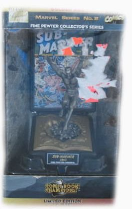 Marvel Golden Age Sub-Mariner Fine Pewter Collector Series Figure - 1