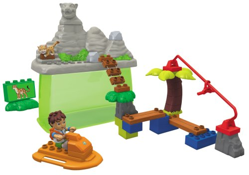 Mega Bloks Diego at Jaguar Mountain Bucket