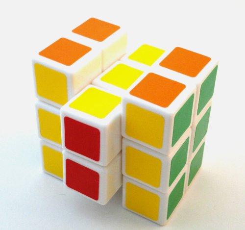 Cheap QunJia Toys QJ 2x3x3 Brain Teaser Cube Puzzle White (B005539BVG)