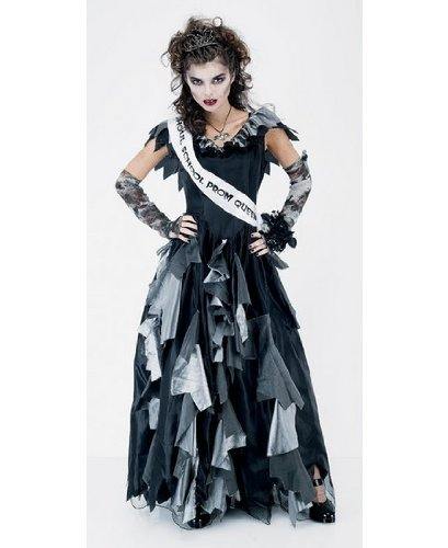 Zombie Prom Queen Costume - Adult Costume