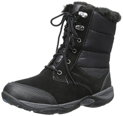 Easy Spirit Women's Erle Winter Boot, Black, 8 M US