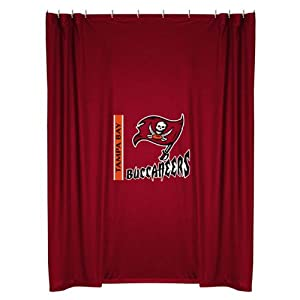 NFL Tampa Bay Buccaneers Shower Curtain by Sports Coverage