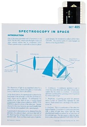 American Educational Spectroscopy In Space Astroslide Chart