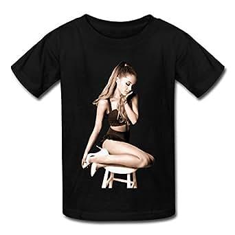 Amazon.com: SANMU Kid's Ariana Grande My Everything Recoloured T-shirt