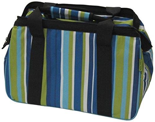 JanetBasket Blue Stripes Eco Bag by Notions Marketing - Drop Ship