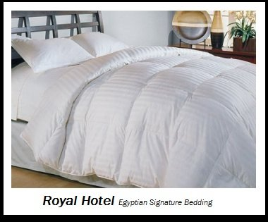 Royal Hotel's 1200 Thread Count Queen Size Siberian