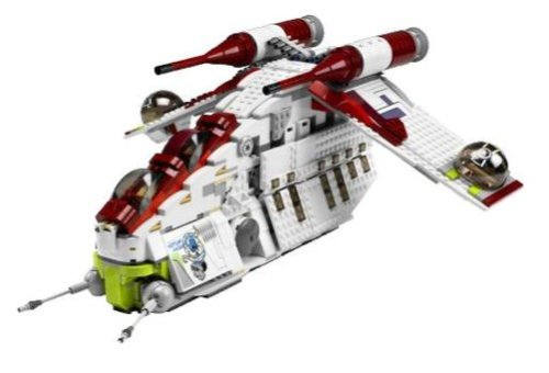 LEGO Star Wars 7676 Republic Attack Gunship