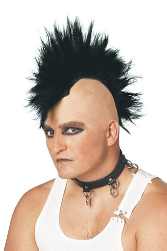 PMG Men's Mohawk Wig Paper Magic
