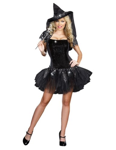 Dreamgirl - Starry Night Witch Adult Costume - Small