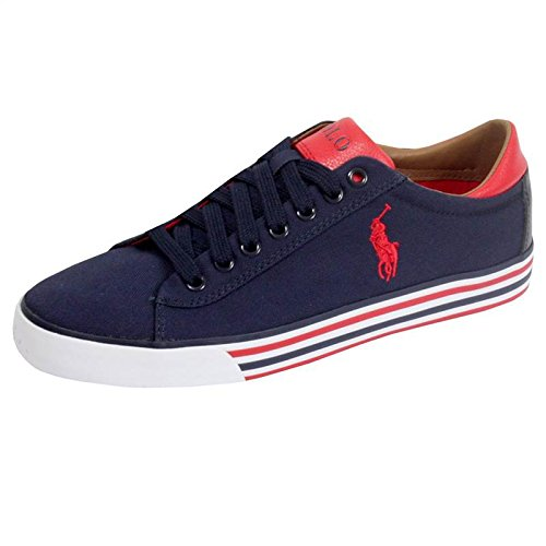 POLO Ralph Lauren - Zapatillas - Hombre - Azul - Harvey Stripe Blue Sneakers - 43