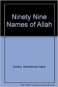 Ninety nine names of allah book