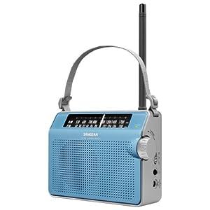 Sangean America PR-D6BU PR-D6BU AM/FM Compact Analog Portable Radio