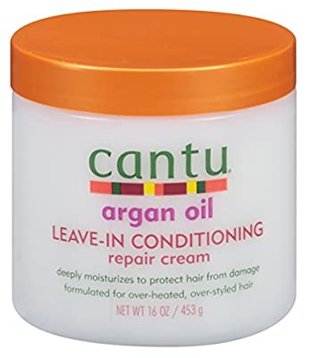 Cantu Argan Oil Leave-In Conditioning Repair Cream 16oz