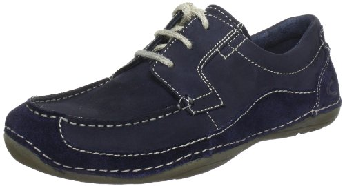Camel Active Men's Harlow Navy Blue/Midnight Blue Lace Up 347.11.03 7 UK