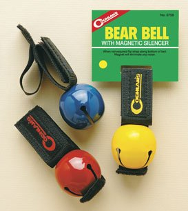 Coghlans Bear Bell With Magnetic Silencer Hiking Safety Survival Attack Dog Bell