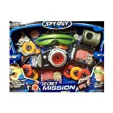 Spy Guy Secret Mission Set SPY EYE KIT, 15 Pieces