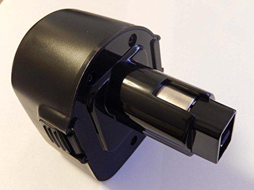 vhbw Batteria Ni-CD 1300mAh (12V) per DC727KA-B2, DC727VA, DC740K-2, DC740KA, DC742KA come Dewalt DC9071, DE9037, DE9071, DE9074.