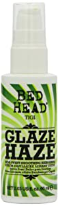 TIGI Bed Head Glaze Haze Semi-Sweet Smoothing Unisex Hair Serum, 2.3 Ounce