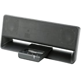 Logitec iPod Dock�^�X�s�[�J�[ iPhone4/4S/3GS/3G/ipod��4����ȍ~�Ή� �u���b�N LDS-SI200BK