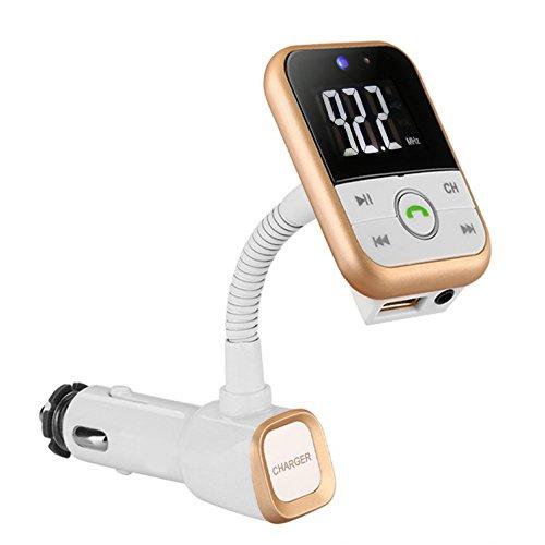 FM-Transmitter-Yokkao-Bluetooth-V30-Radio-Empfnger-Universaler-KFZ-Auto-Radio-Adapter-Handsfreier-Car-Kit-mit-Freisprecheinrichtung-Mikrofon-und-35mm-Audio-Anschluss-Auto-Ladegert-fr-iPhone-Samsung-Sm