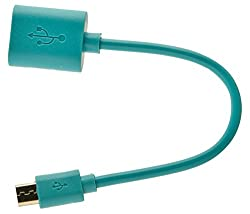 Generic Universal Micro USB OTG Cable (Blue)