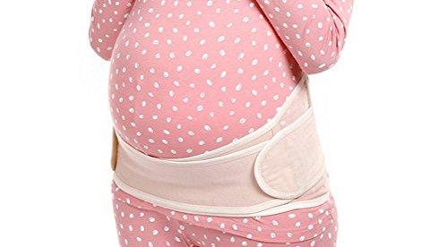 妊婦帯 World Bridgeダブルベルトでしっかり! 妊婦用サポーター  腹帯 産後骨盤ベルト  マタニティガードル フリーサイズ 柔らか+通気性良 産前、産後に