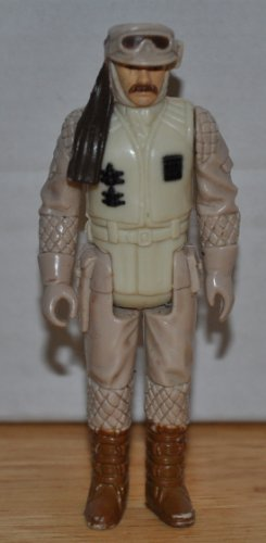 Vintage Hoth Rebel Commander 1980 - The Empire Strikes Back - Star Wars Universe Action Figure - Collectible Replacement Figure Loose (OOP Out of Package) - 1